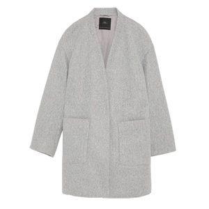 Grey Zara Coat